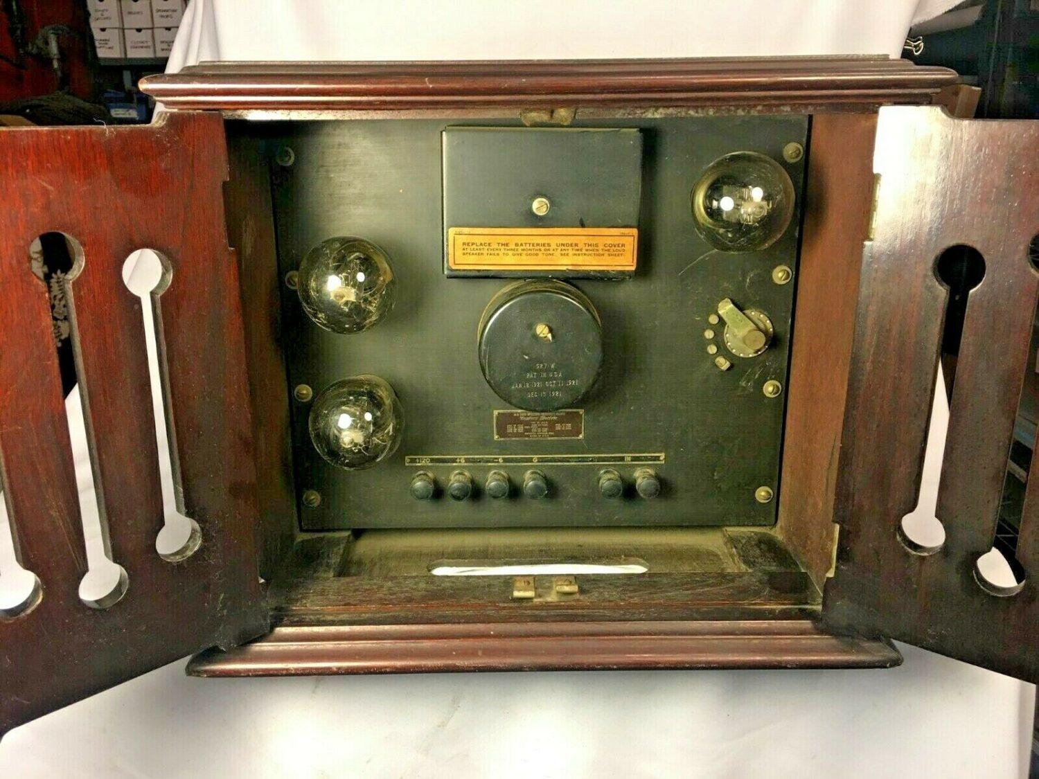 Western Electric 14A Loud Speaking Telephone Outfit Tube Amplifier HOLY COW RARE