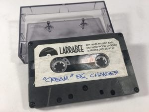 "Prince ""Cream"" studio session work tape"