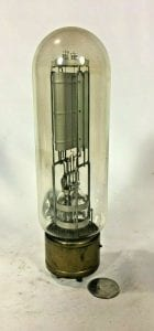 Western Electric rare vacuum tube for vintage radio.