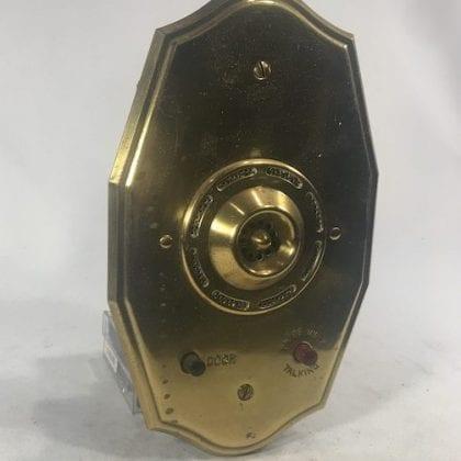 Couch 4660 Brass Inter-Phone Intercom Wall Mount Telephony Doorbell