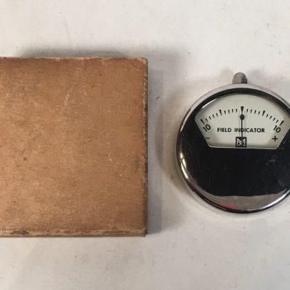 Magnaflux Field Indicator Meter Vintage RARE! Original Like NEW!