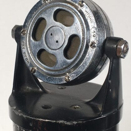 Shure Brothers 40-D Microphone Tube Condenser 1930s >>> THIS IS IMPOSSIBLY RARE!