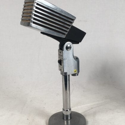 Calrad DM-18 Microphone Vintage Space Age Chrome Dynamic Design RARE!