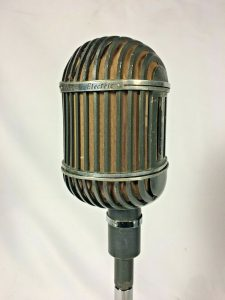 Western Electric 639B Ribbon Dynamic Microphone Classic WE Birdcage Vintage RARE!