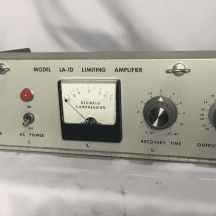 CCA LA-1D Compressor Limiter Like A Gates Sta-Level Broadcast Vintage Tube Valve Radio Audio Processor SUPER RARE!!!
