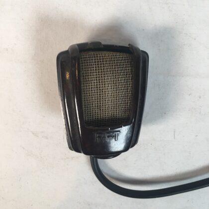 RFT Microphone East German Vintage Bakelite Handheld Tabletop Mic for Tape Recorder Kinda UGLY