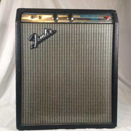 Fender Musicmaster Bass Amplifier Guitar Combo Silverface CBS Vintage Tone RARE!!!