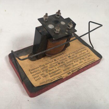 Servisol Ltd Liverpool Early Radio Noise Reduction Transformer Hum Eliminator RARE!!! Museum Piece